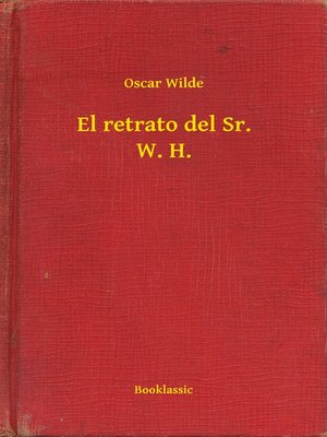 cover image of El retrato del Sr. W. H.