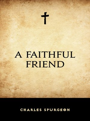 cover image of A Faithful Friend