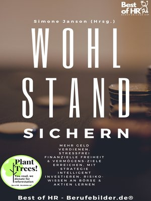 cover image of Wohlstand sichern