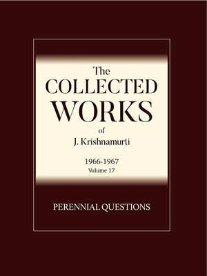 cover image of Perennial Questions
