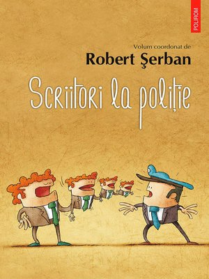cover image of Scriitori la poliție