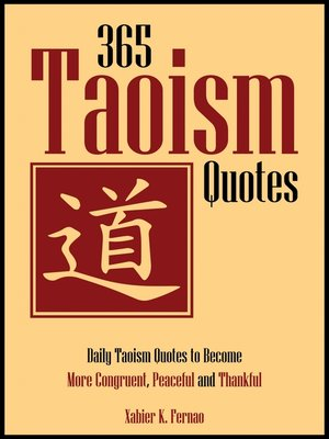 cover image of 365 Taoism Quotes
