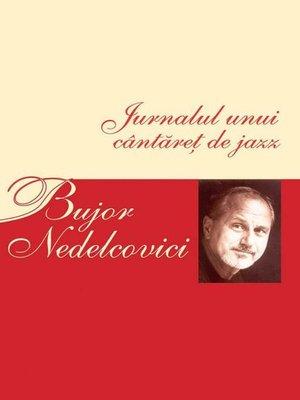 cover image of Jurnalul unui cântăreț de jazz
