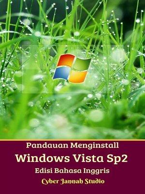 cover image of Panduan Menginstall Windows Vista Sp2 Edisi Bahasa Inggris