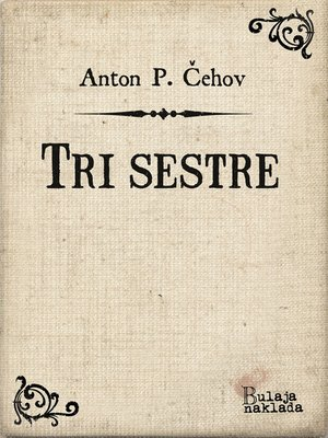 cover image of Tri sestre
