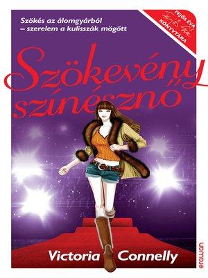 cover image of Szökevény színésznő