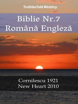 cover image of Biblie Nr.7 Română Engleză