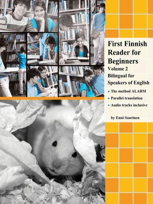 cover image of First Finnish Reader for Beginners Volume 2