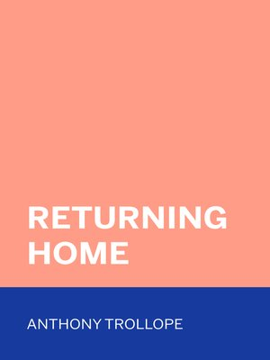 cover image of Returning Home