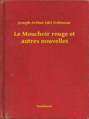 cover image of Le Mouchoir rouge et autres nouvelles