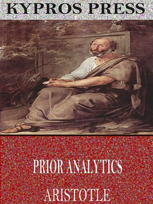 cover image of Prior Analytics