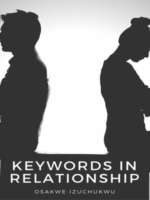 cover image of Keywords In Relationship