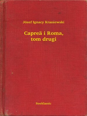 cover image of Capreä i Roma, tom drugi