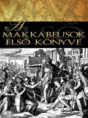 cover image of A makkabeusok első könyve