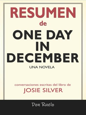 cover image of Resumen de One Day in December