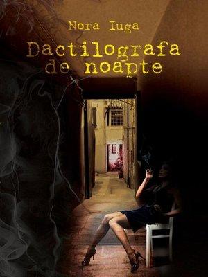 cover image of Dactilografa de noapte