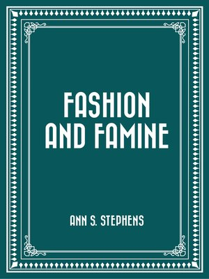 cover image of Fashion and Famine