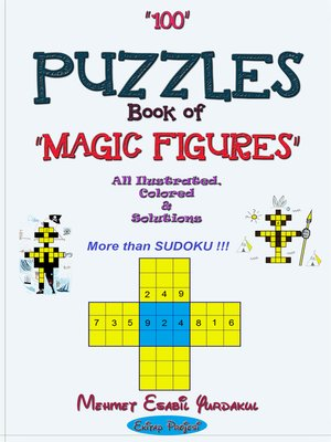 cover image of 100 Puzzles Book of Magic Figures