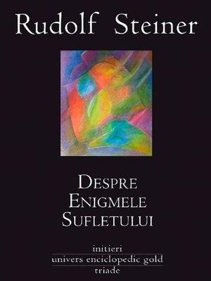 cover image of Despre enigmele sufletului