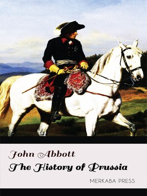 cover image of The History of Prussia