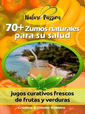 cover image of 70+ Zumos naturales para su salud