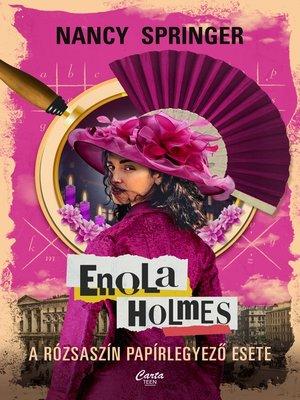 cover image of Enola Holmes