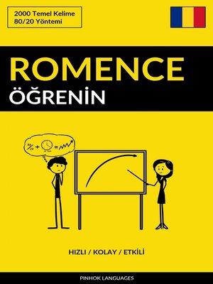 cover image of Romence Öğrenin - Hızlı / Kolay / Etkili
