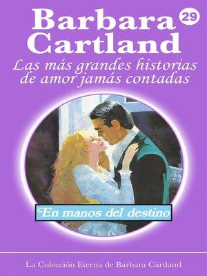 cover image of En Manos del Destino