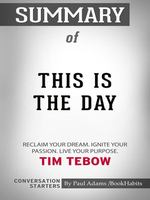 cover image of Summary of This Is the Day