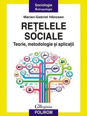 cover image of Rețelele sociale