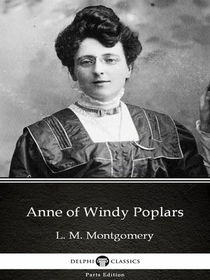 cover image of Anne of Windy Poplars by L. M. Montgomery