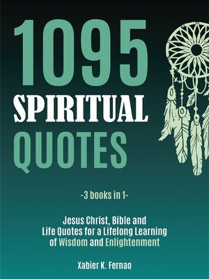 cover image of 1095 Spiritual Quotes