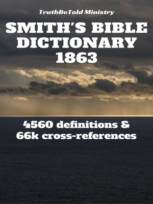 cover image of Smith's Bible Dictionary 1863