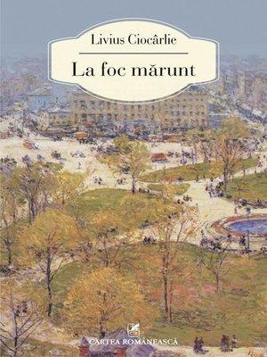 cover image of La foc marunt