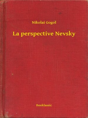 cover image of La perspective Nevsky