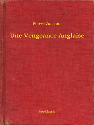 cover image of Une Vengeance Anglaise