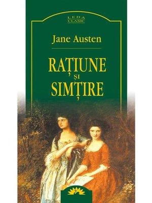 cover image of Rațiune și simțire