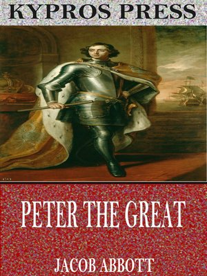 cover image of Peter the Great