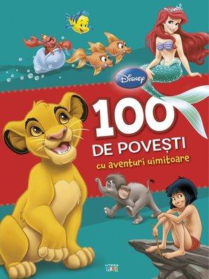 cover image of 100 de povești cu aventuri uimitoare