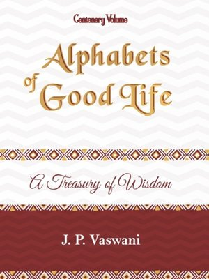 cover image of Alphabets of Good Life