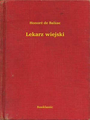 cover image of Lekarz wiejski