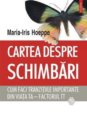 cover image of Cartea despre schimbări