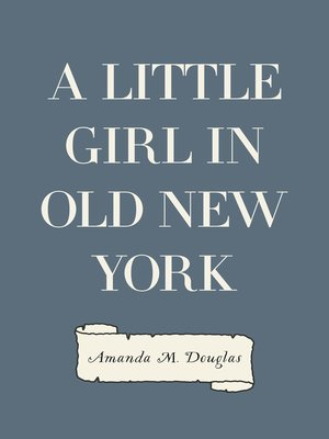 cover image of A Little Girl in Old New York
