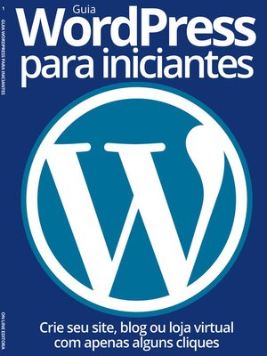 cover image of Guia WordPress para iniciantes