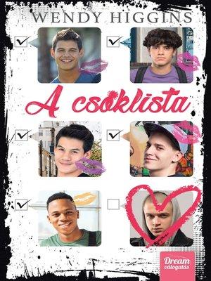 cover image of A csóklista