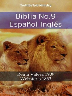 cover image of Biblia No.9 Español Inglés