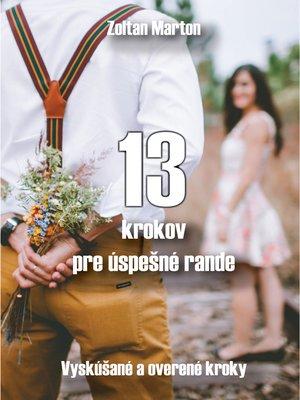 cover image of 13 krokov pre úspešné rande