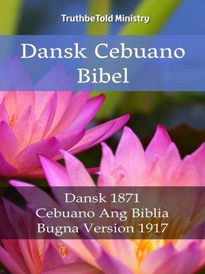 cover image of Dansk Cebuano Bibel