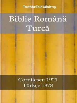 cover image of Biblie Română Turcă
