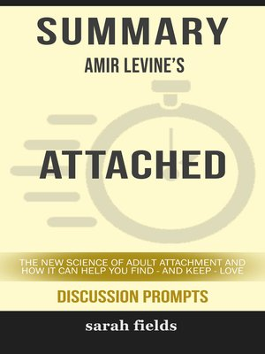 cover image of Summary: Amir Levine's Attached
